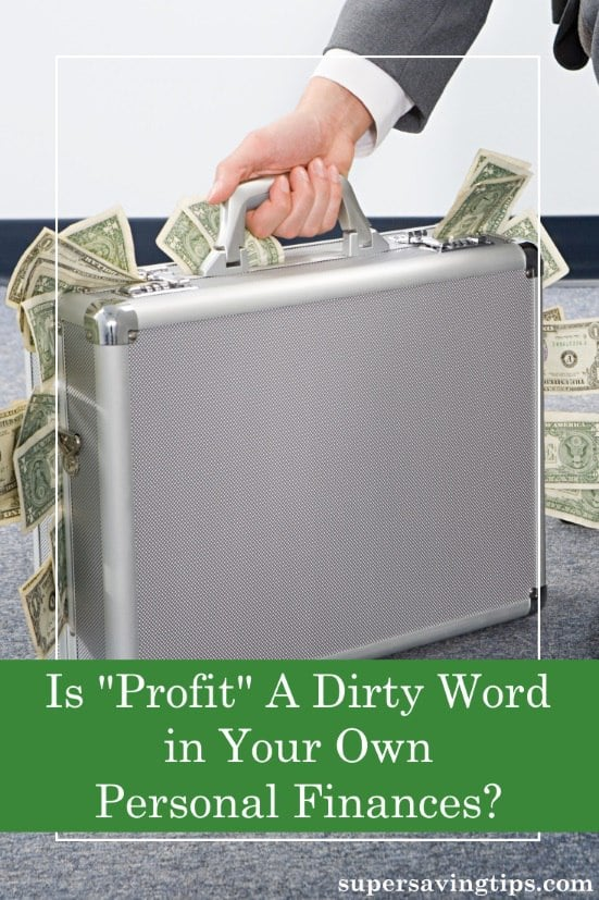 Some people find profit to be a dirty word, but businesses need to survive just like when you profit in your own personal finances.