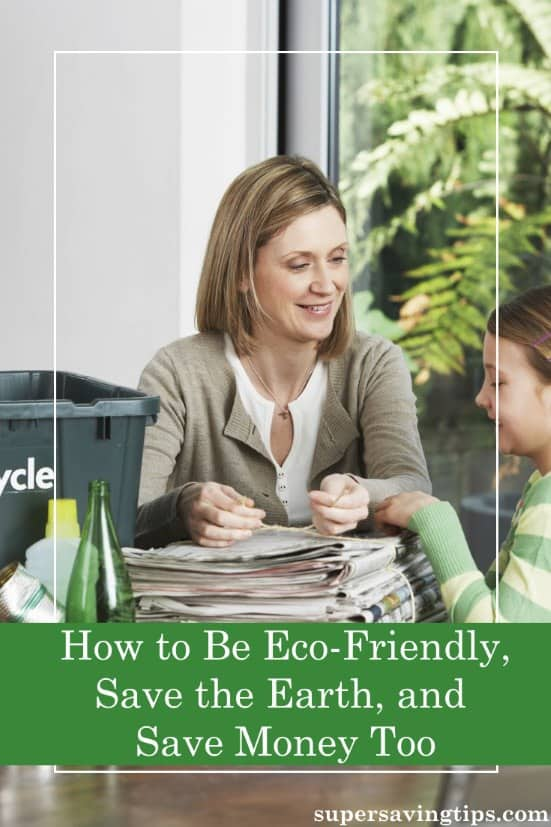 We need to take care of our home, the Earth. Here are some tips on how to be eco-friendly, save money, and take care of the environment at the same time.