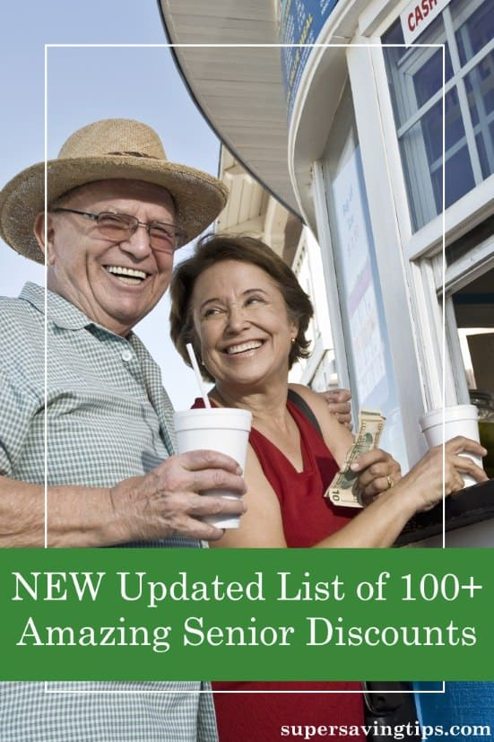 I've updated my comprehensive list of senior discounts, with everything from dining to groceries and shopping to travel. For many, you don't have to be 65!