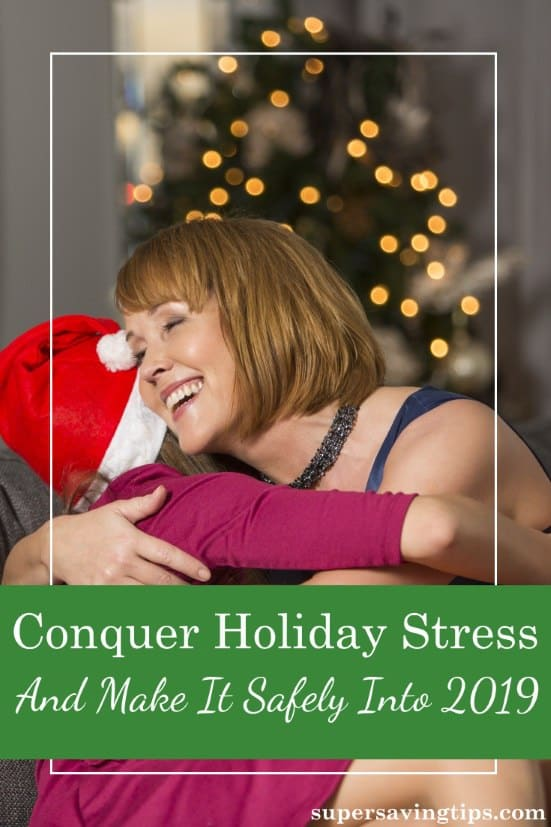 We're all susceptible to holiday stress, so pay attention to these 6 ways of managing stress to insure you have a happy holiday season!