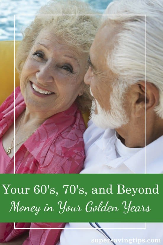 I've written before about money challenges in your middle aged years, but now it's time to examine your 60's, 70's, and beyond: money in your golden years!