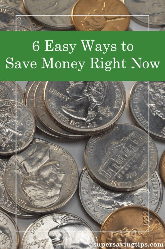It can seem difficult to save money, but that's because we attempt big changes instead of taking baby steps. Try these six easy ways to save money to start.