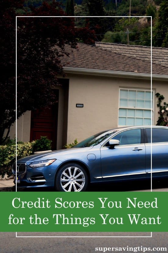 We all know that good credit is important, but do you know what credit scores you need to get the things you want? Here's what you need to know.