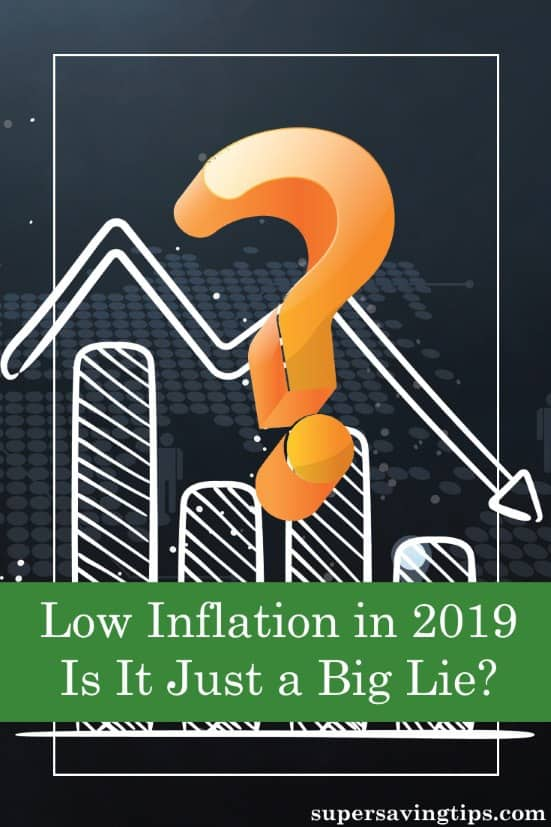 The stats show we have low inflation in 2019, but my own observations have me wondering if that's really true. Here's how inflation affects your finances.