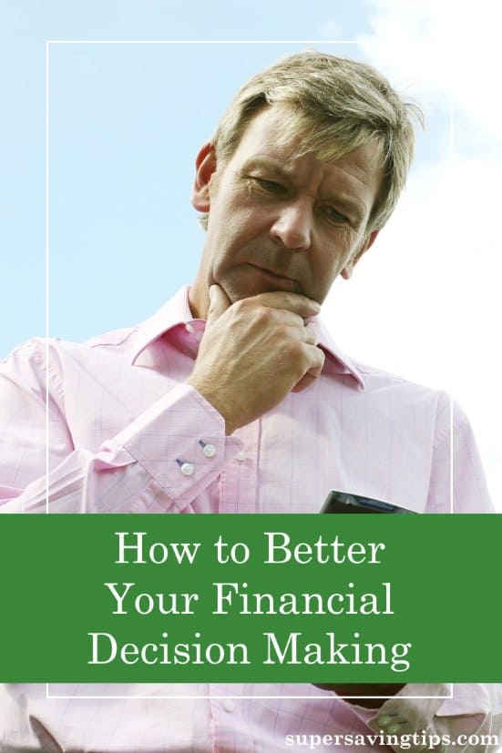 Financial decision making can be difficult and overwhelming, but here are some ways to make it easier and more successful.