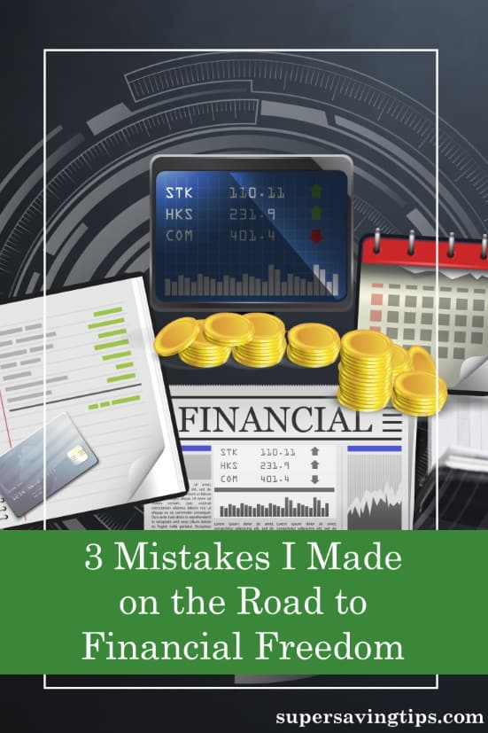 In today's guest post, Simon from Financial Expert shares three investing mistakes he made on the way to financial freedom and how you can avoid them.