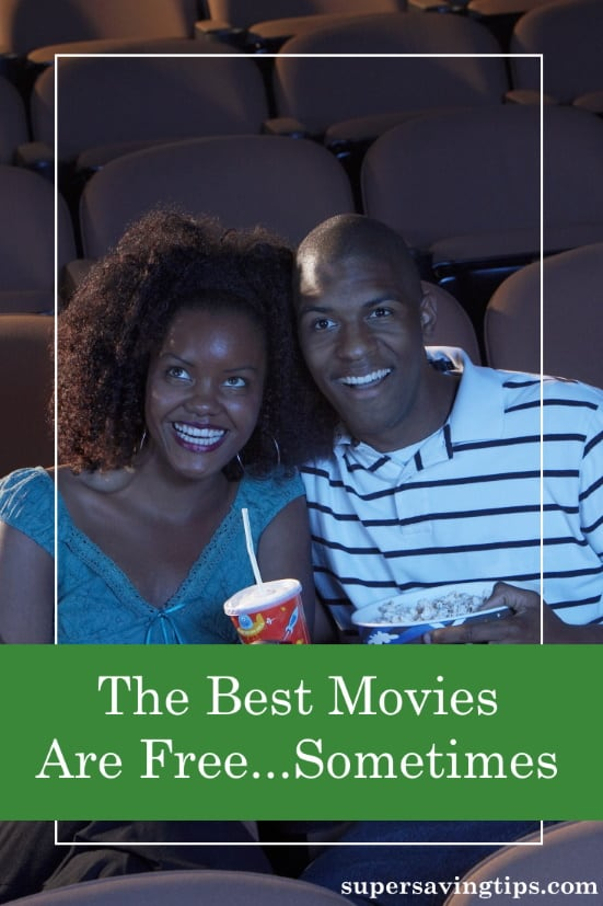The best movies are free movies, when you can get them that way. Read on for how I've seen some free movies recently and perhaps you can, too.