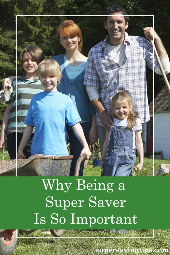 While too many people in the U.S. are living in poverty, being a super saver is an important way to maintain your financial security.