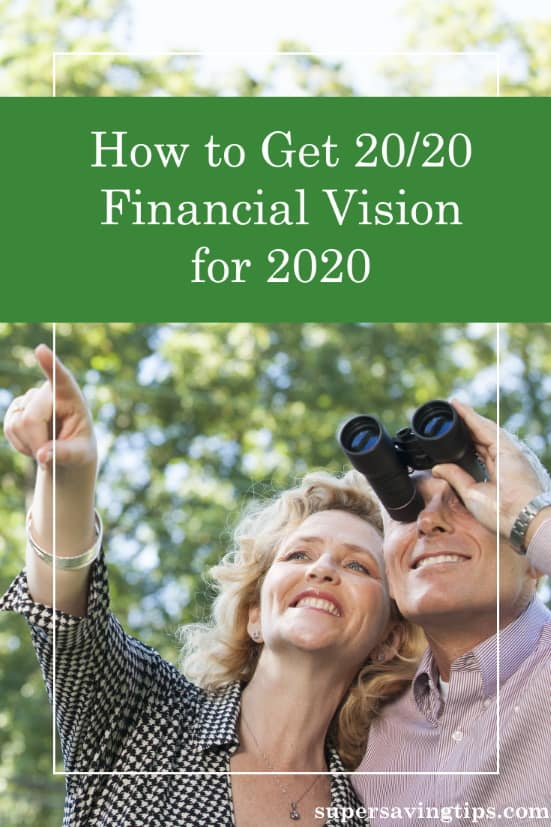 In order to have a clear financial vision, it's important to know how you did financially in 2019, and to create a budget you can live with for 2020.