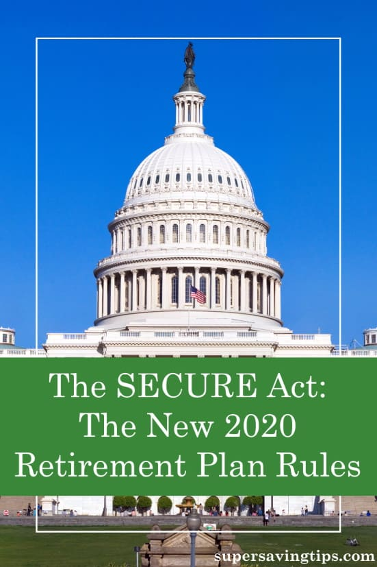 The new SECURE Act has made some important changes to retirement plan rules that you need to know. Here are some of the details and how they may affect you.