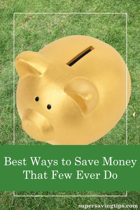 Knowing the best ways to save money isn't enough; you actually have to do something! Here are 6 things you can do to get your finances in shape.