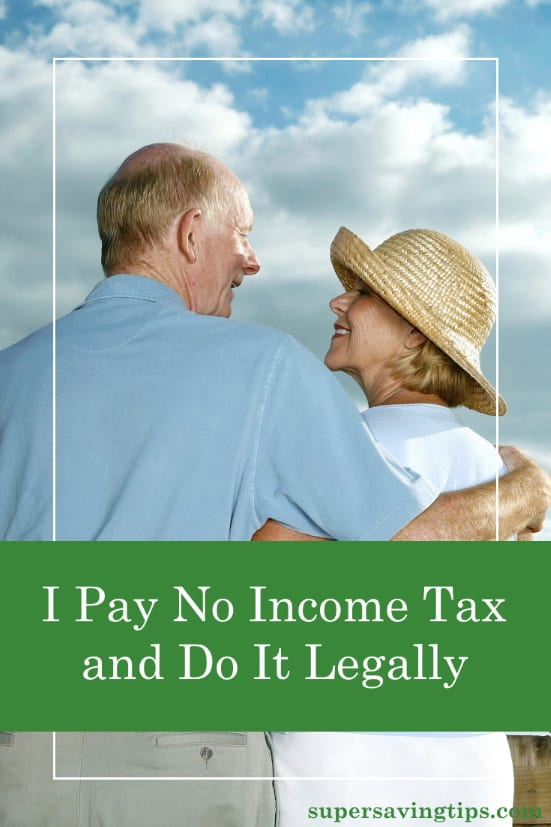 It may be possible for you to pay no income tax and do it legally. Do you take advantage of all the deductions and tax credits you're entitled to?