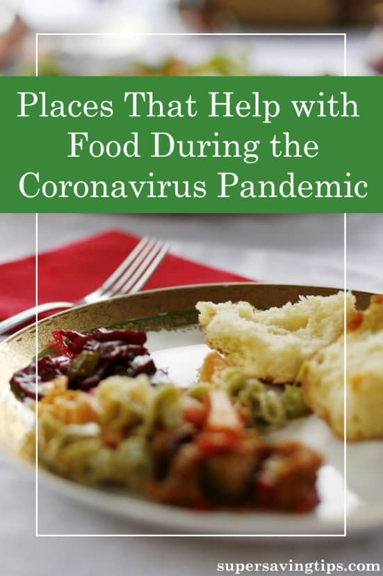 Places that help with food have become critical during the coronavirus pandemic. Here is a list of places where you can get help or give help and donate.