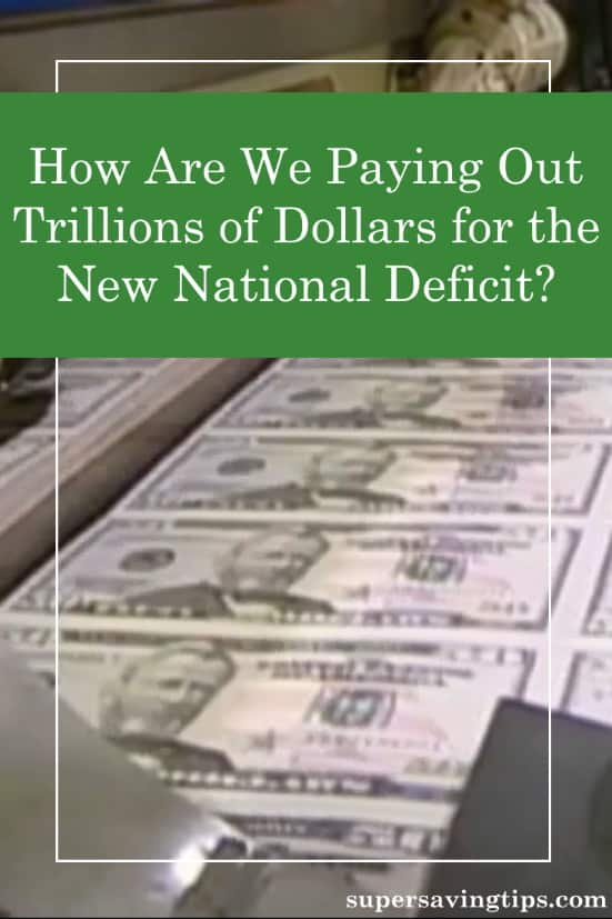 Recent moves to protect our economy have also ballooned the national deficit by several trillion dollars. How will we ever pay that off?