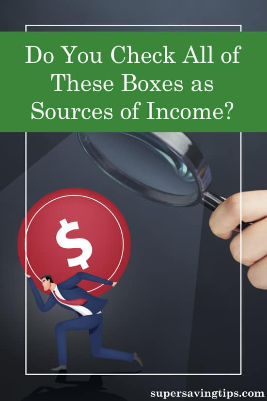 When it comes to sources of income, there are many ways to generate cash. Here are 12 types of income you should plan now for the future.