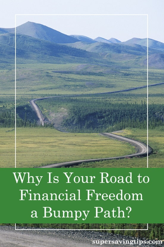 In your quest for financial freedom, there are some bumps you'll need to overcome. Here are the areas you'll need to cover to get financially straight.