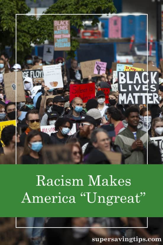 Racism has been part of American culture for hundreds of years, keeping it from being great. Learn what you can do to counter racism.