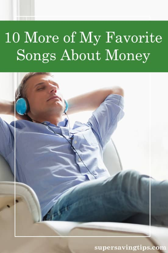 Money is a popular topic in music, and here are 10 more of my favorite songs about money. See what messages speak to you through the music.