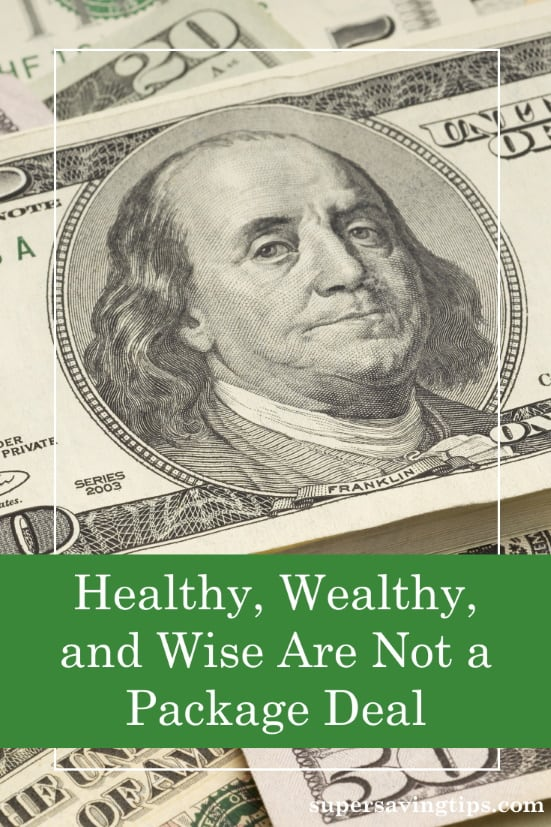 For those seeking to be healthy, wealthy, and wise, the path isn't always easy. Here are some thoughts on getting there and current events.