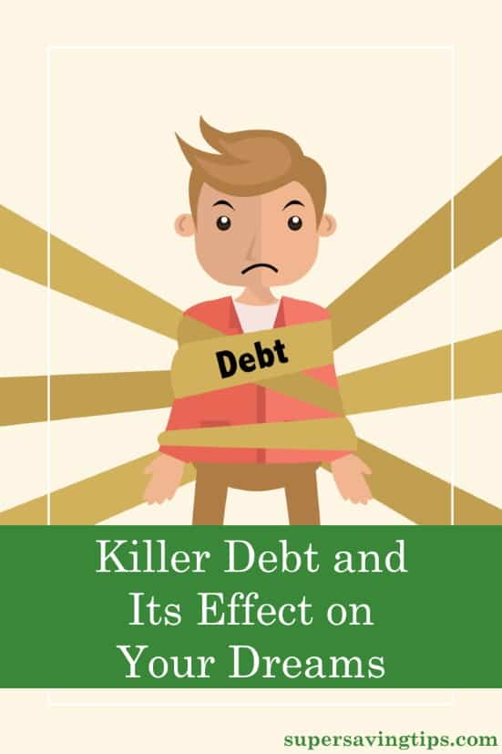 Is debt killing your dreams? It is keeping you from the American Dream? If so, it's time to take control of your finances.