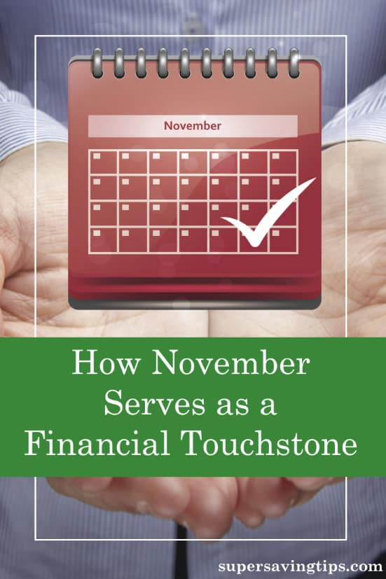 It's now November, a month which serves as a touchstone for financial planning. Will you make 2020's goals? Have you started planning 2021?