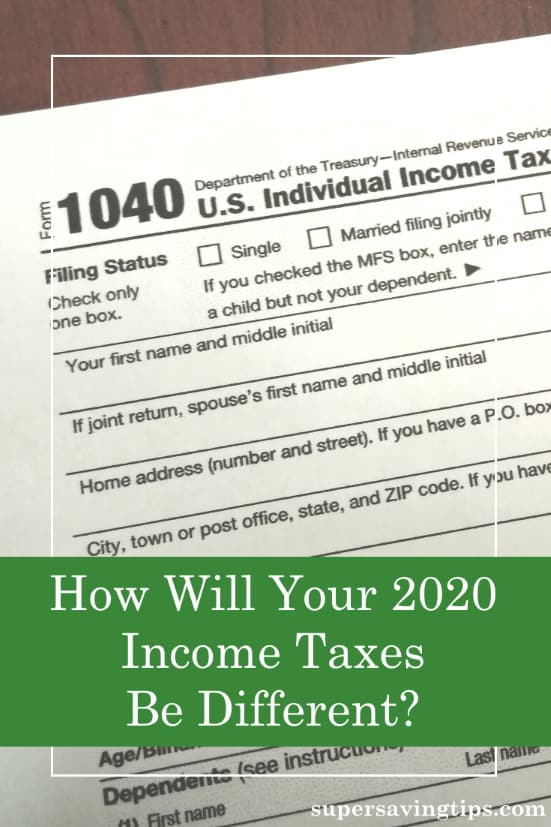 Filing your income taxes for 2020 will likely be different than previous years. Check out these differences and be prepared.