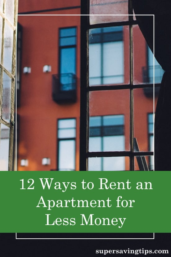 It's possible to get a discount when you rent an apartment, you just need to know how. Check out these 12 tips to help you save money.