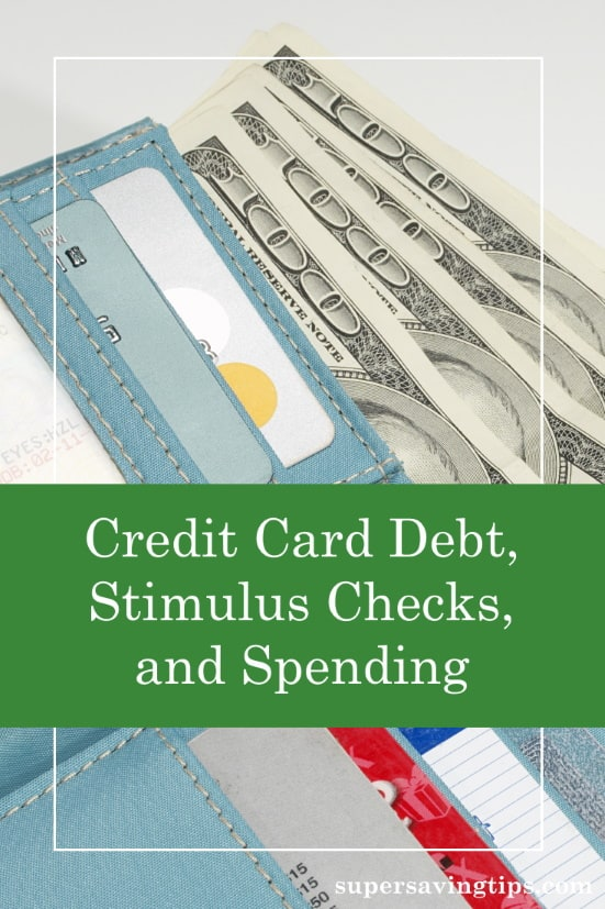 The U.S. is mired in credit card debt, and government stimulus checks aren't going to save us. We need to control our spending.