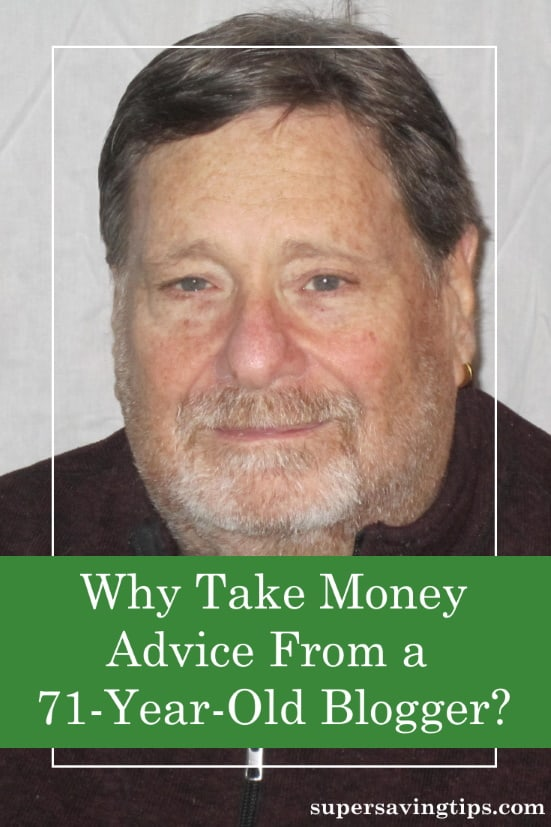 Is the money advice from a 71-year-old blogger relevant to your experience? Here's why you should give it a read.