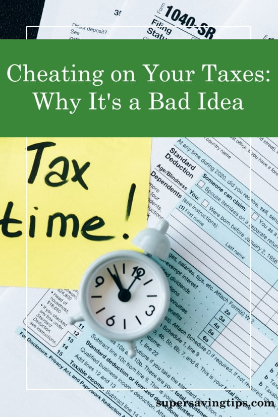 Cheating on your taxes may be tempting, but it's a bad idea. If you're self-employed, it's easier to do, but you're also more likely to get caught.
