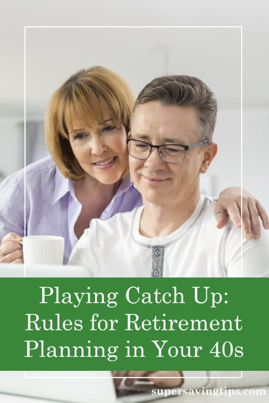If you're a 40-something and haven't saved much for retirement yet, it's time to focus. Retirement planning in your 40s isn't easy, but it can be done.
