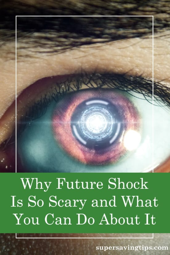 Future shock is what happens when we're overwhelmed by change. That can be scary, but there is something you can do about it...plan ahead!