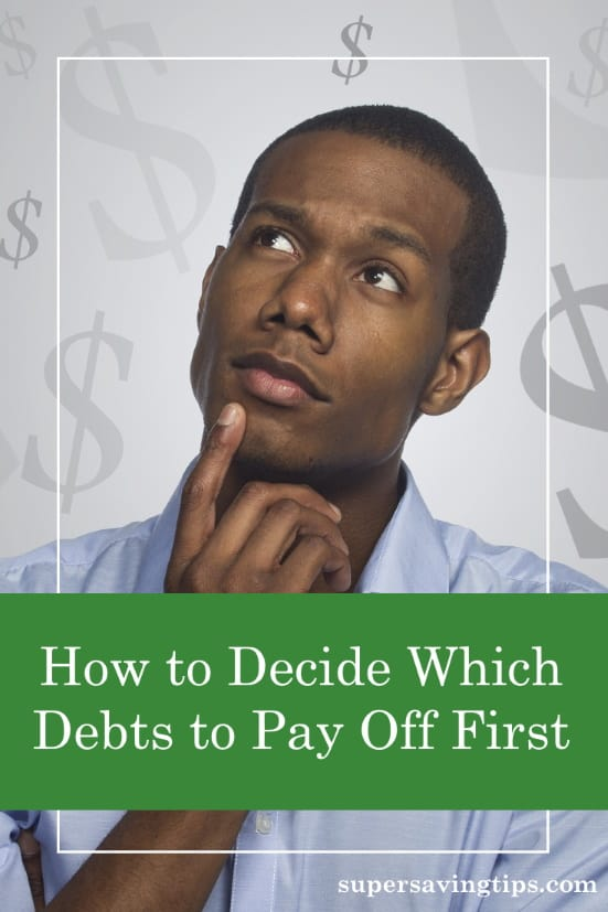 If you have multiple debts, you may be confused about which one to pay off first.  Here's how to pay off debt in the best order.