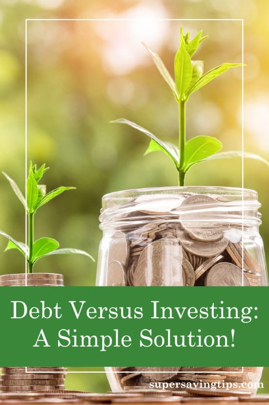 Money gradually growing into more, as it does when paying down debt or investing