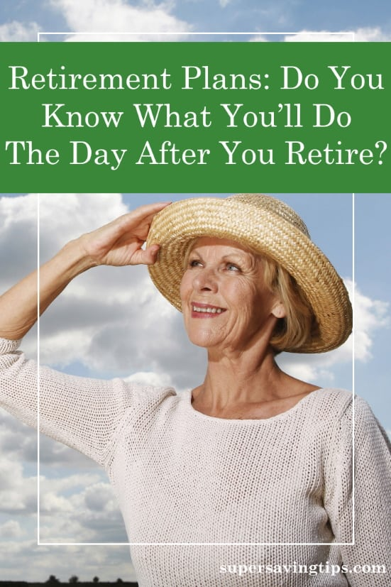 Senior woman holding her hat in front of blue sky, thinking about her retirement plans