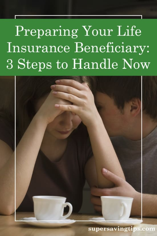 Grieving loved ones who were prepared to be your life insurance beneficiary